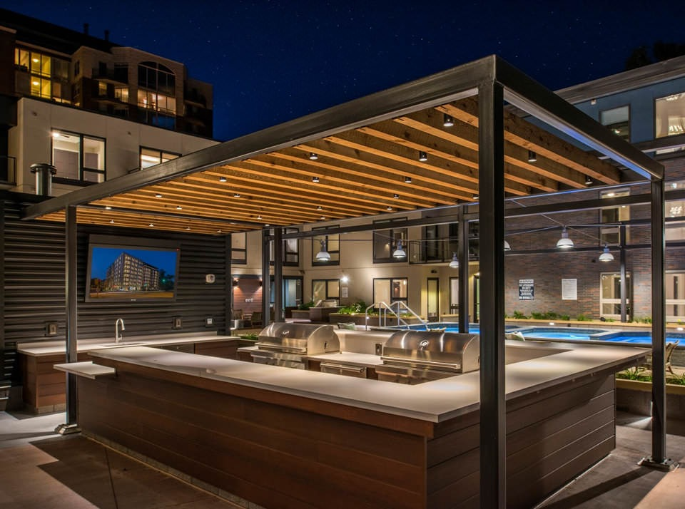 Grilling and Pool Courtyard