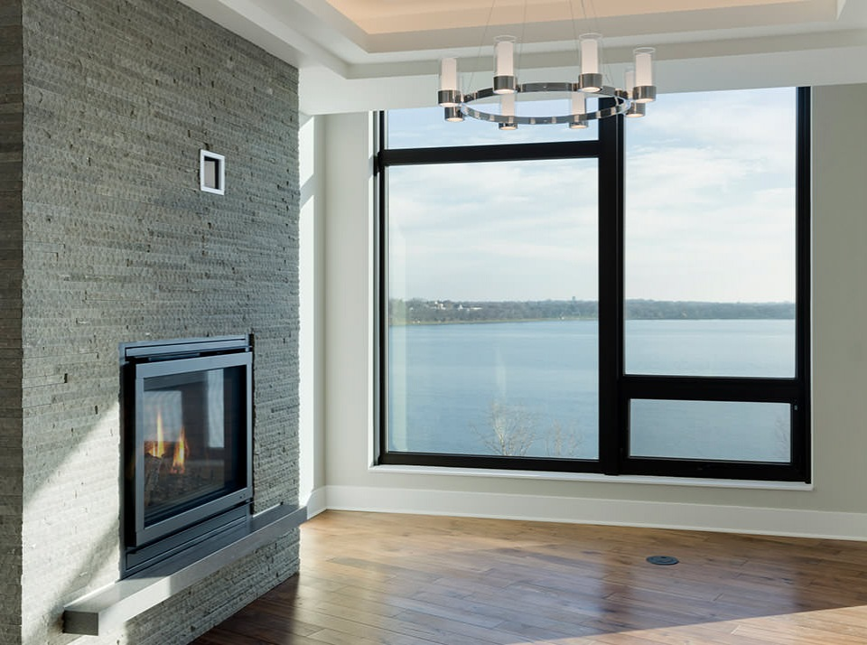 Penthouse Fireplace