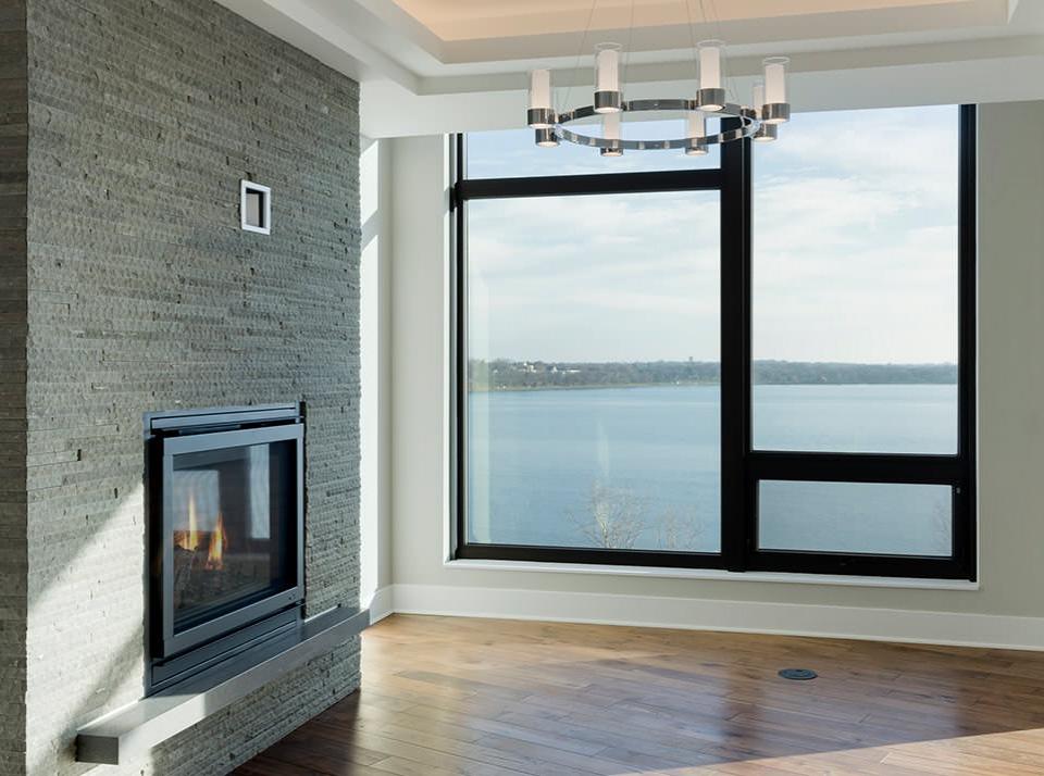 Penthouse Fireplace